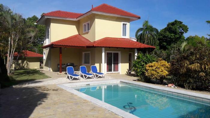 Cabarete - nice 3 beds villa in gated beachfront community Dominican Republic