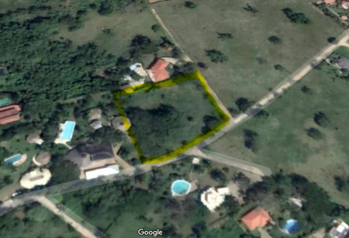 Sosua - 2 neighbour lots 4,165 m², 1 acre total for sale Dominican Republic