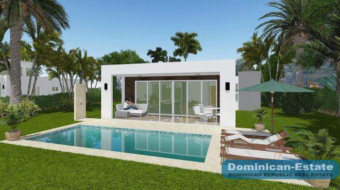 Cabarete area - brandnew house with pool in gated community Dominican Republic