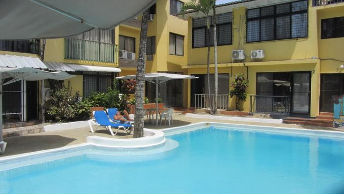 Sosua Center - cheap apartment in front of the pool low maintenance fee Sosua Special Offfers