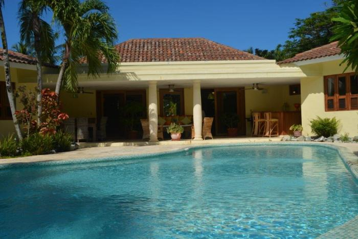 Sosua - Seahorse Ranch 4 beds luxury villa for rent Sosua Rental Service