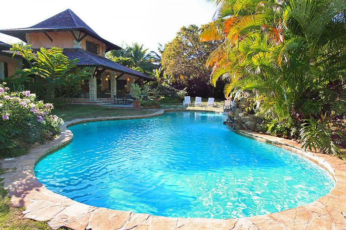 Sosua - Seahorse Ranch 4 beds luxury villa for rent Dominican Republic