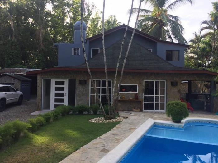 Cabarete Center - 4 beds house with pool for rent longterm Cabarete Rentals