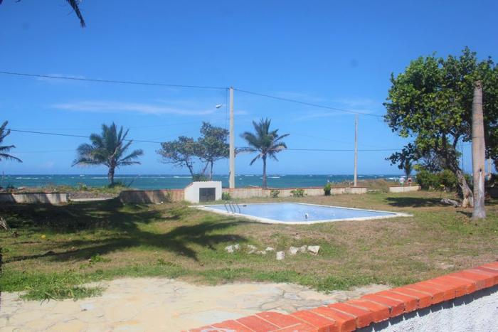 Costambar - cheap beachfront lot with pool Dominican Republic