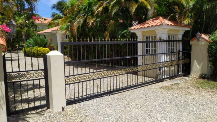 Sosua - building lot for sale 900 m² in small gated community in la mulata Dominican Republic