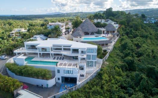 Las Terrenas 9 beds ocean view Villa Dominican Estate