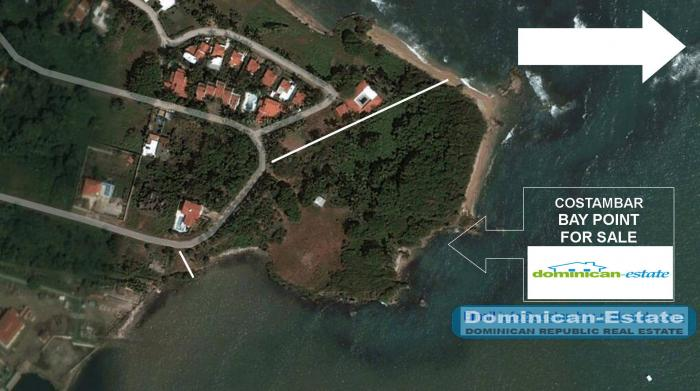 Puerto Plata - Cotambar big oceanfront lot 4 acre 3 beaches 60 usd / m² Dominican Offers