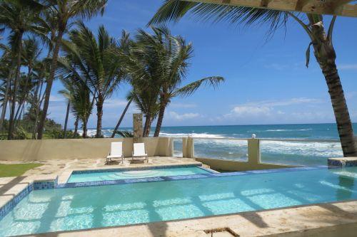 Cabarete - 2 beds beachfront condo excellent price Dominican Estate